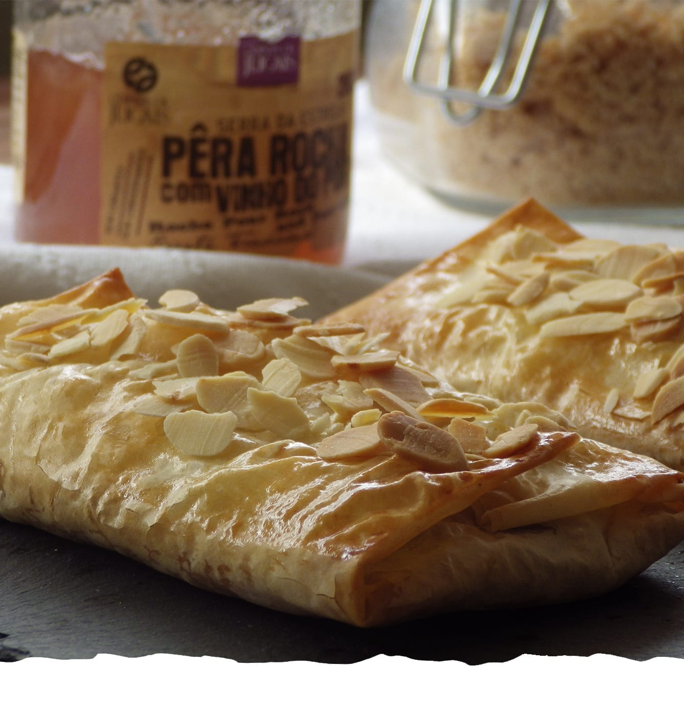 Phyllo Pastry Pillows with Pear Mobile