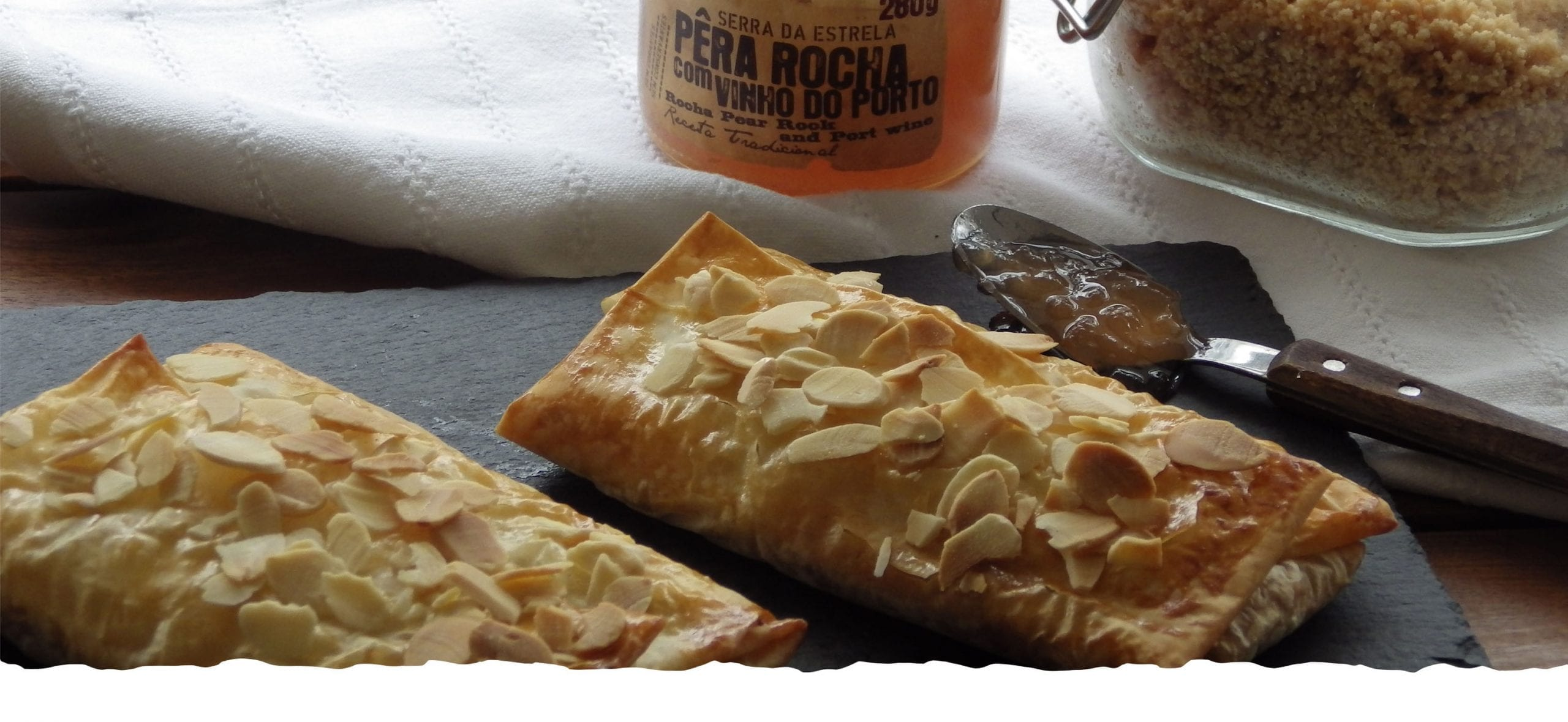 Phyllo Pastry Pillows with Pear