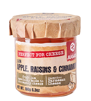Apple Raisins and Cinnamon Perfect for Cheese Jam