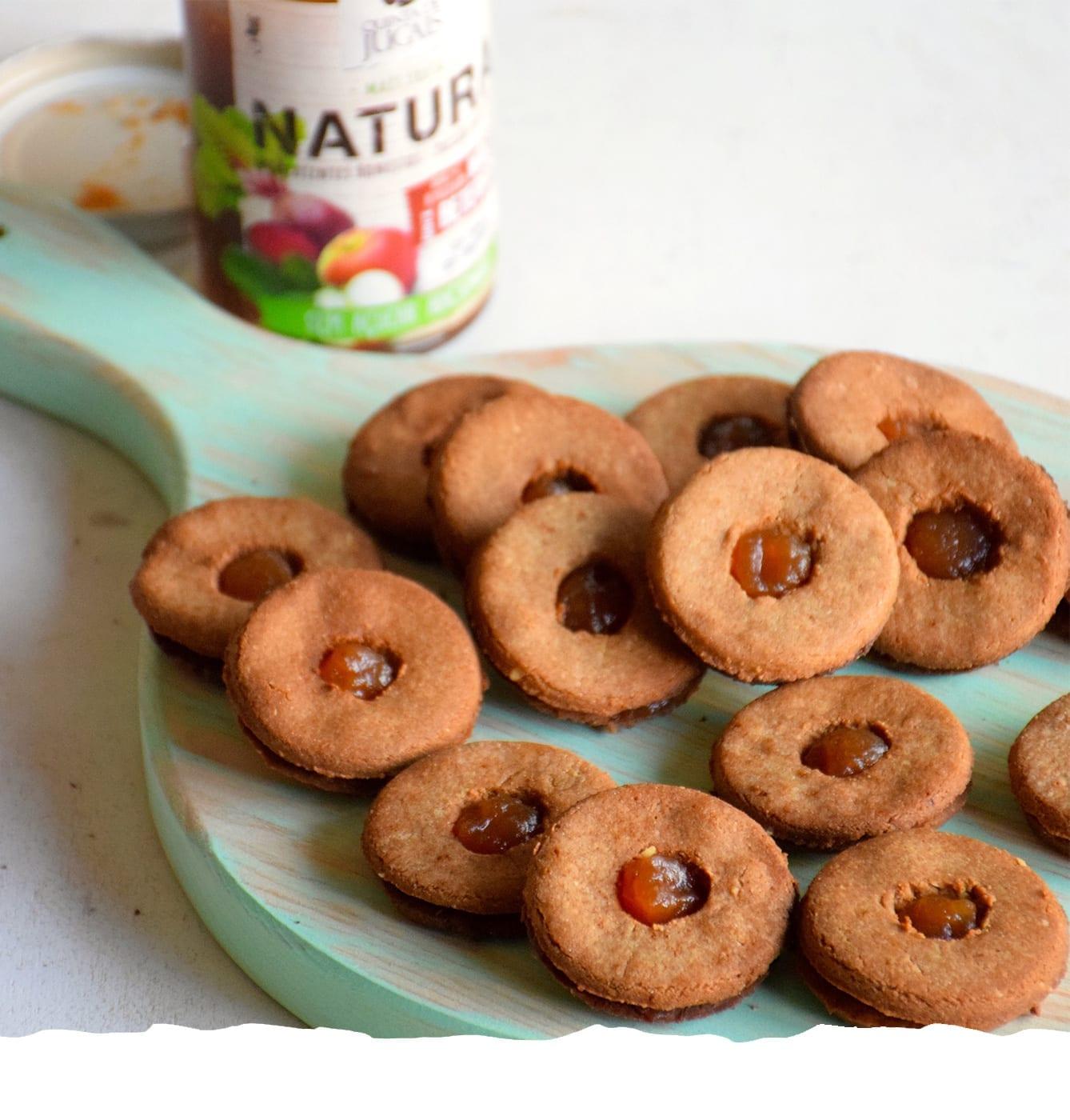 Cookies de Amaranto com Doce de Natura Maçã e Beterraba Mobile