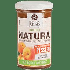 Healthy Ice Cream with Natura Peach Jam 2