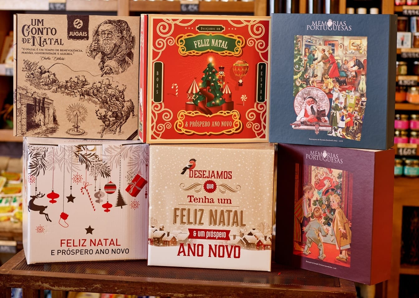 Customize Postcards and Teas on Hampers 2
