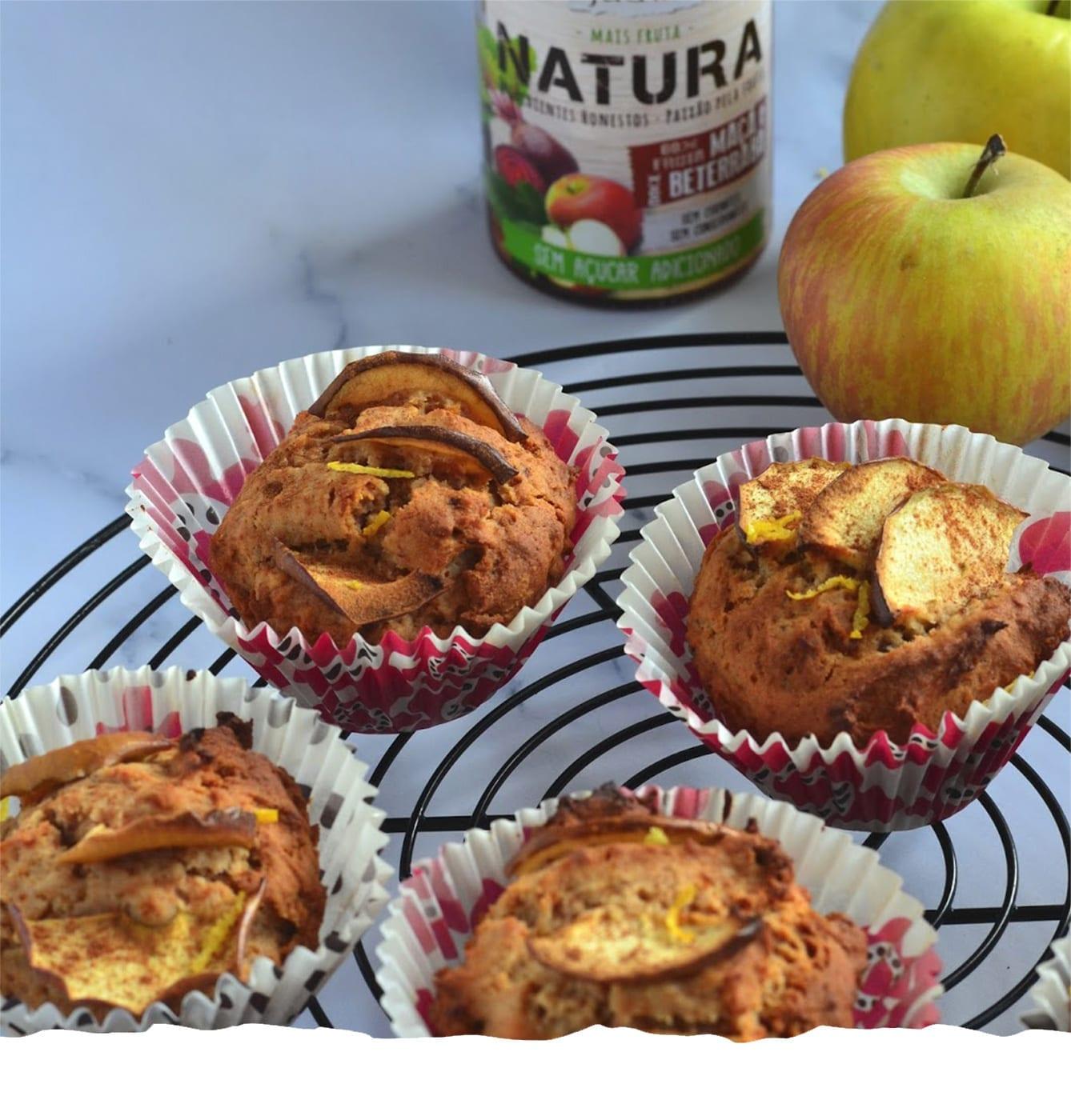 Sugar Free Apple Muffins Mobile