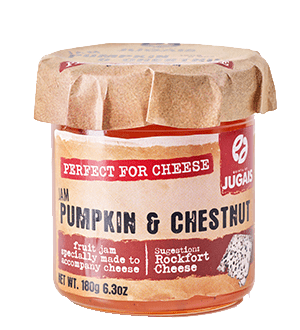 Pumpkin and Chestnut Perfect for Cheese Jam