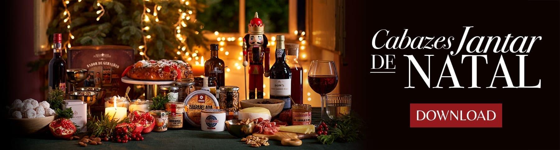 Catálogo Cabazes Jantar de Natal
