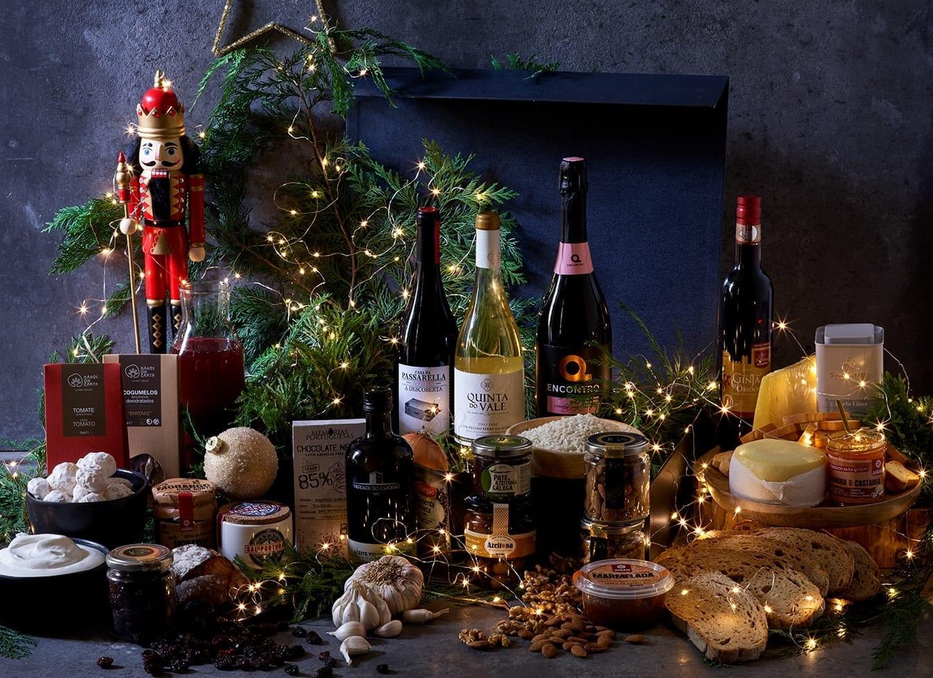 Consulte o nosso Cabaz de Natal Menu Vegetariano