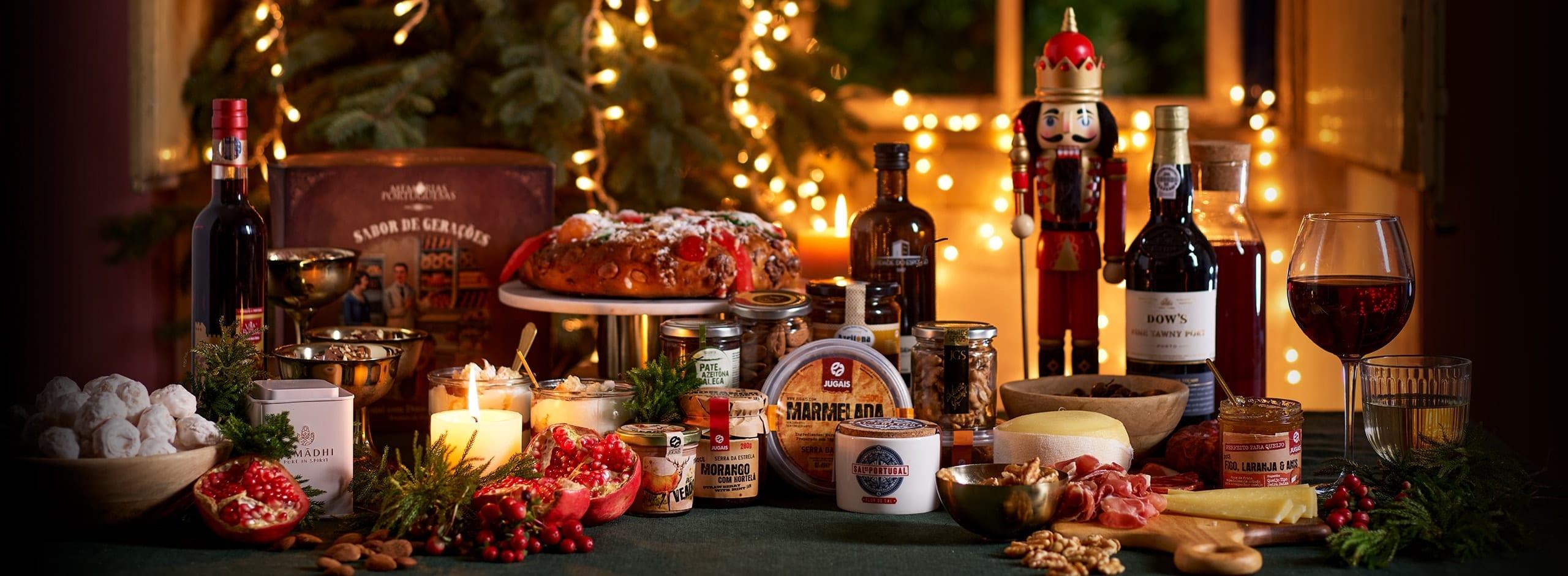 Cabazes de Jantar de Natal