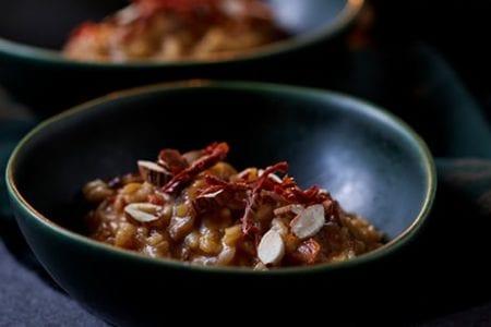 Risotto de Cogumelos e Tomate Blog