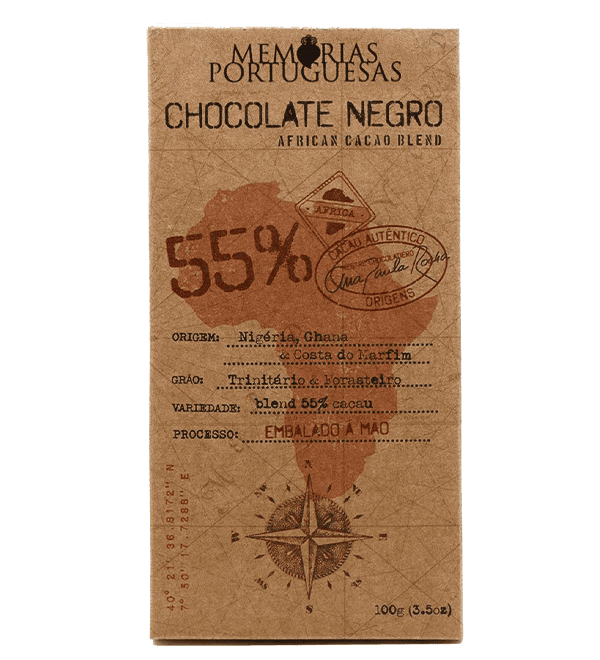 Ver Tablete de Chocolate Negro Artesanal 55% Cacau Essentia