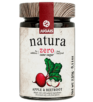 Natura Apple and Beetroot Jam 230 g