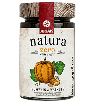 Natura Pumpkin with Walnut Jam 230 g