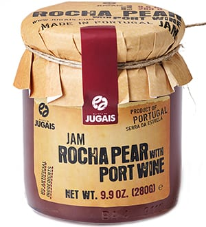Rocha Pear Jam with Port Wine