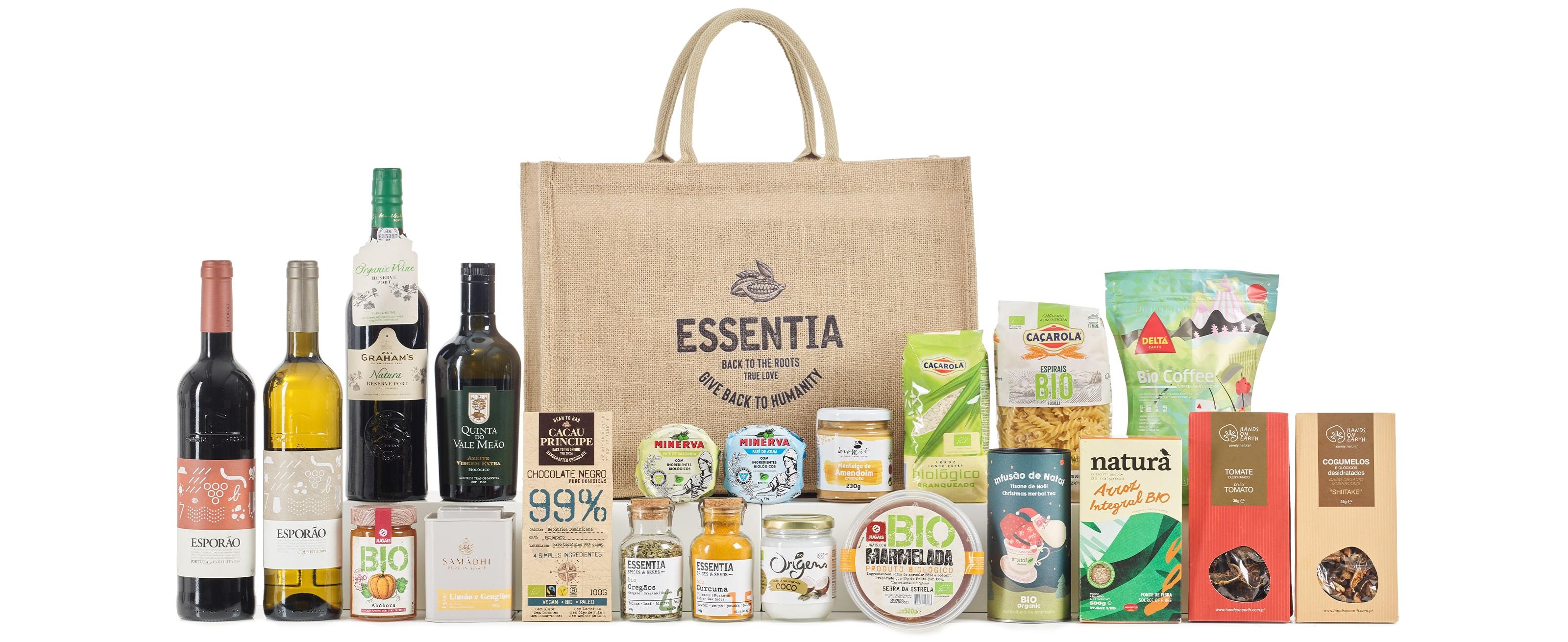 Christmas Gift Basket Organic