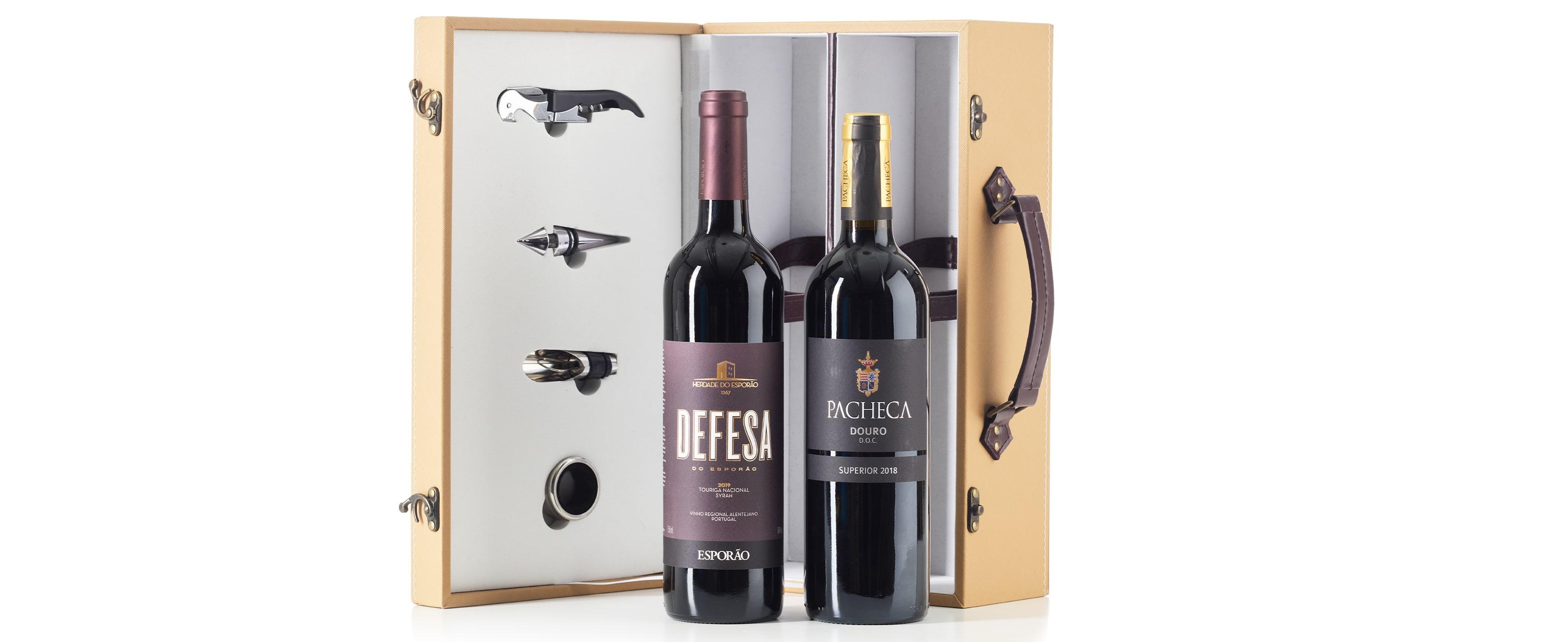 Wine Carrier Gift Basket 03