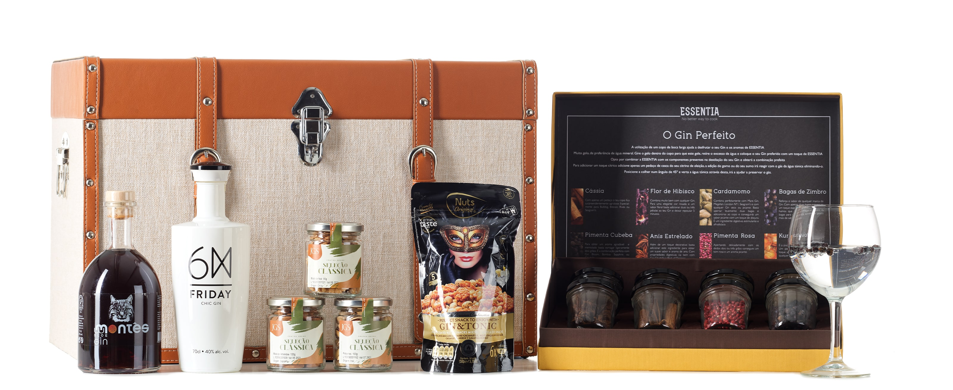 Wine Carrier Gin Collection Hamper 02