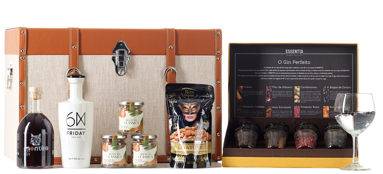 Gourmet Gin Collection Hamper 02 Lista